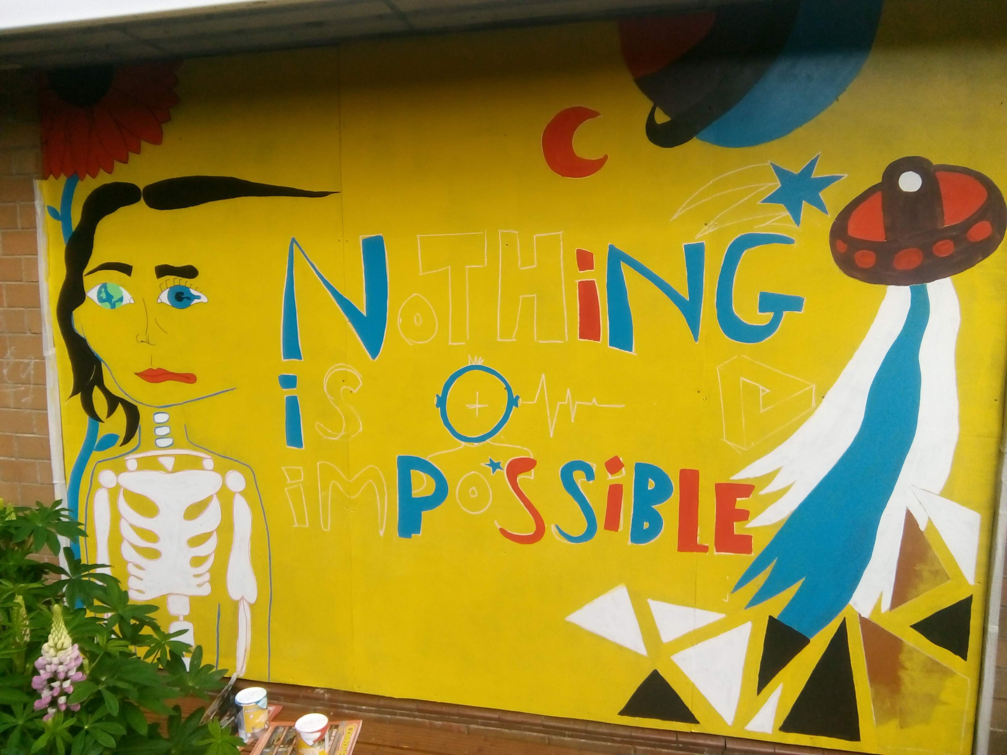 Nothing Is Impossible mural